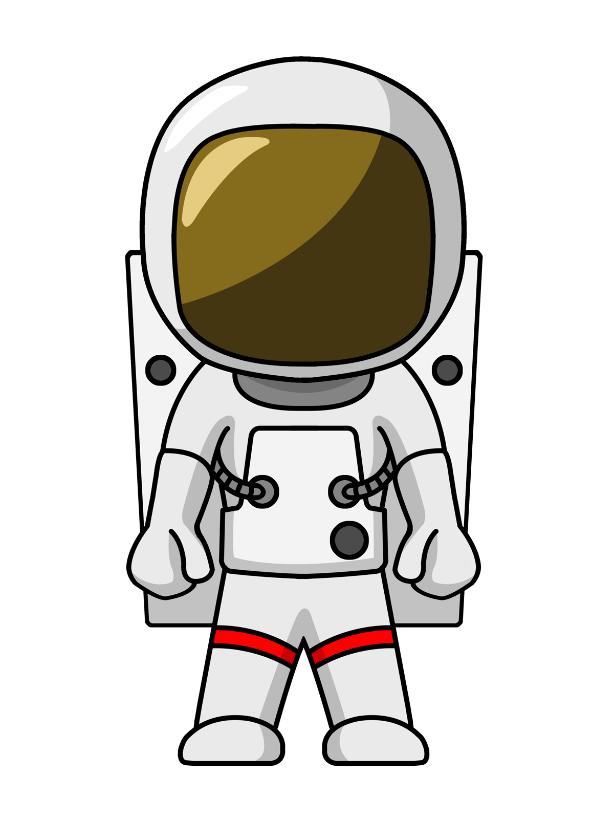 Astronaut Clipart Free - Cliparts.co