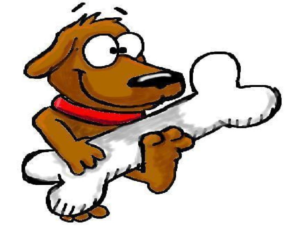 cartoon dog bone   cliparts co