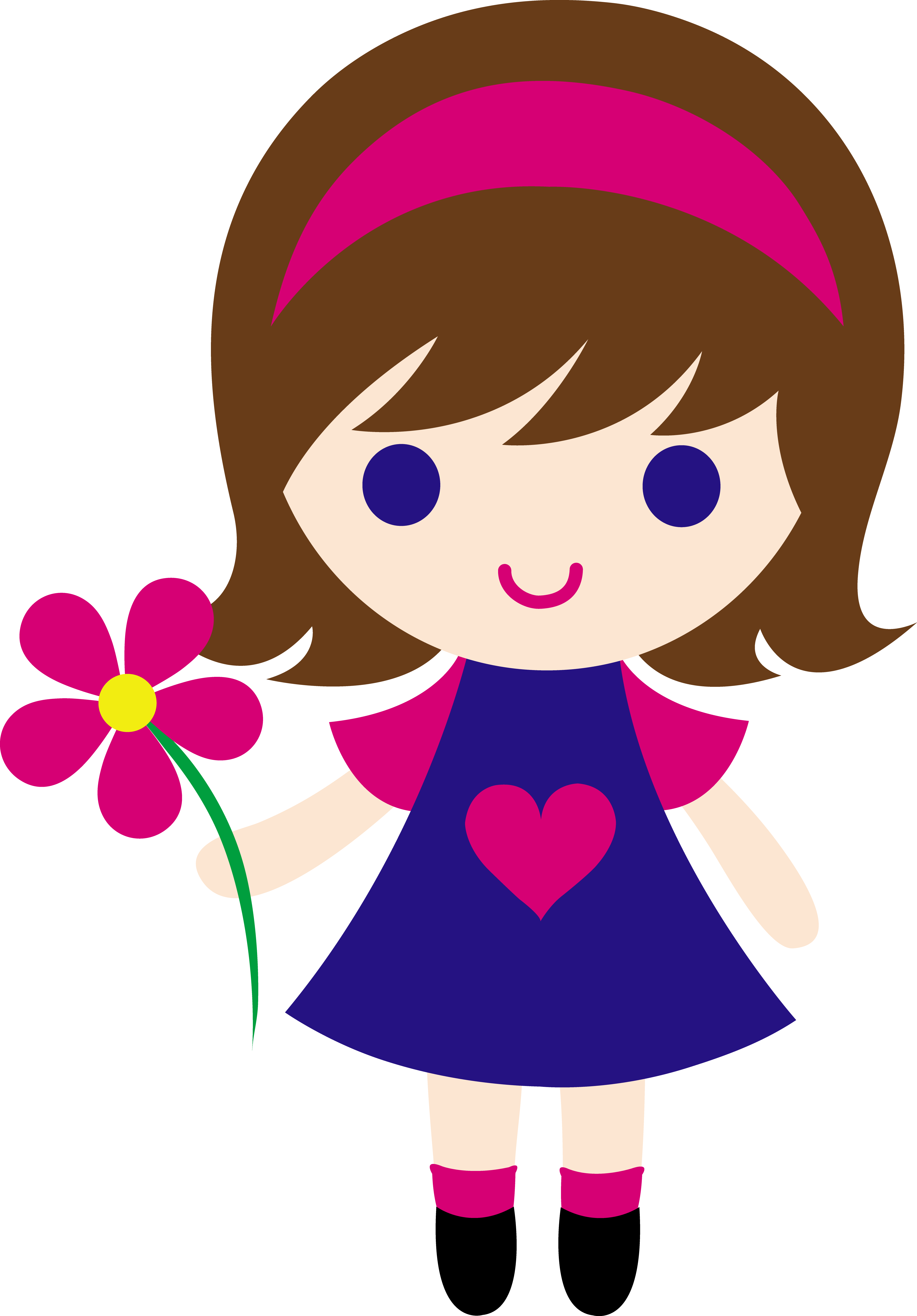 Images For > Girl Author Clipart