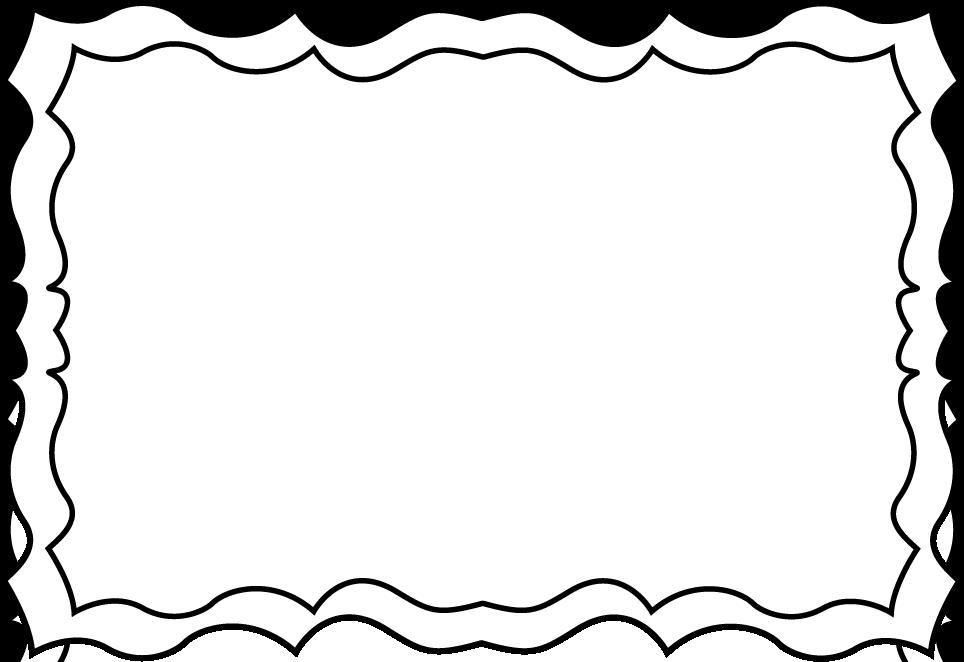 Black And White Clip Art Christmas Borders Car Memes