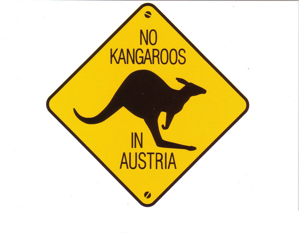 how to call austria from australia