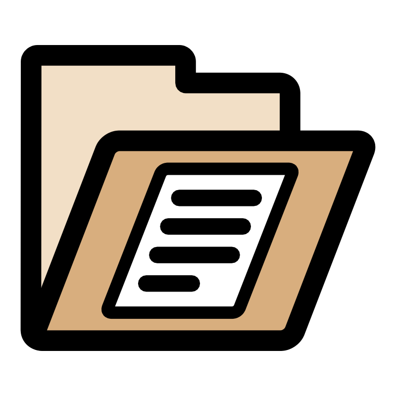 clipart of documents - photo #17