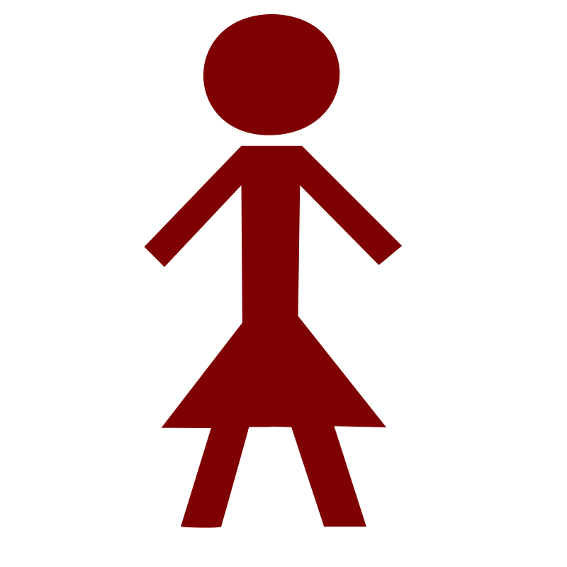 Female Stick Person