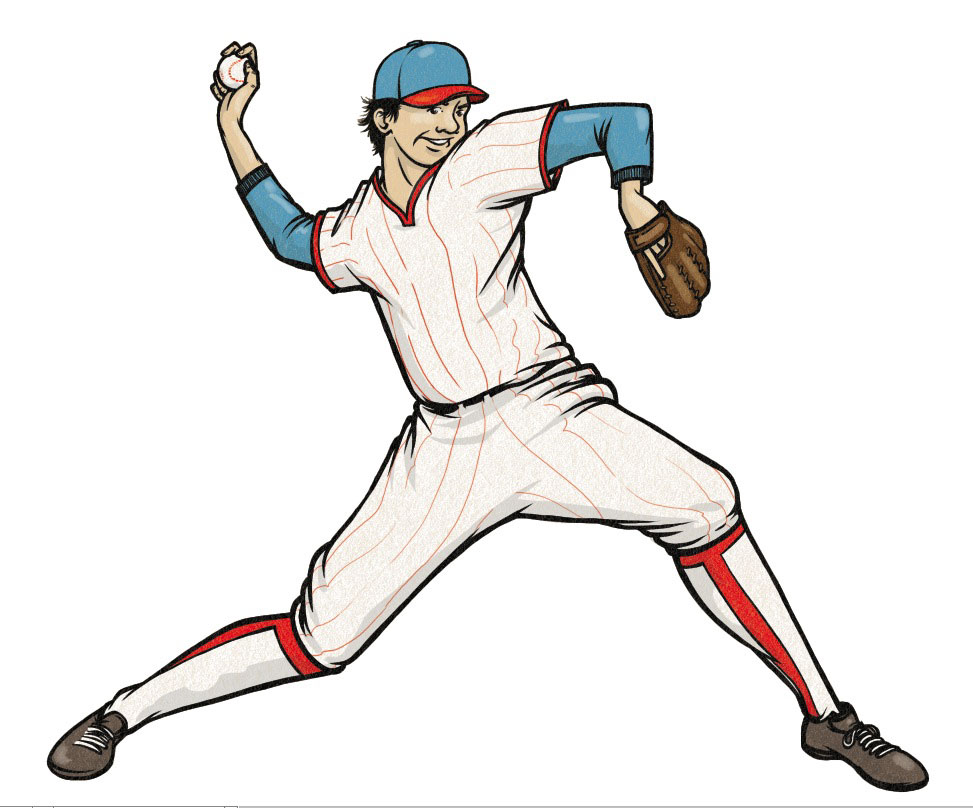 Baseball Pitcher Clipart - Cliparts.co