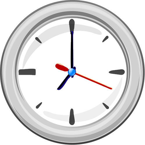 Wall Clock Clip Art