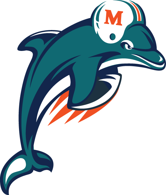 Miami Dolphins Alternate Logo - National Football League (NFL ...