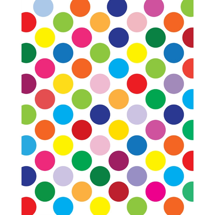 rainbow dots background wwwimgkidcom the image kid