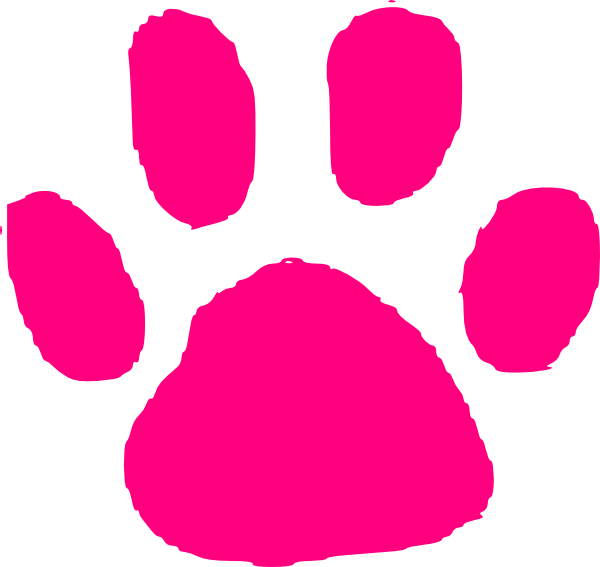Panther Paw Outline - Cliparts co