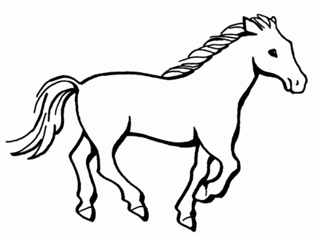 Mustang horse colouring pages page 3 for Mustang horse coloring pages printable