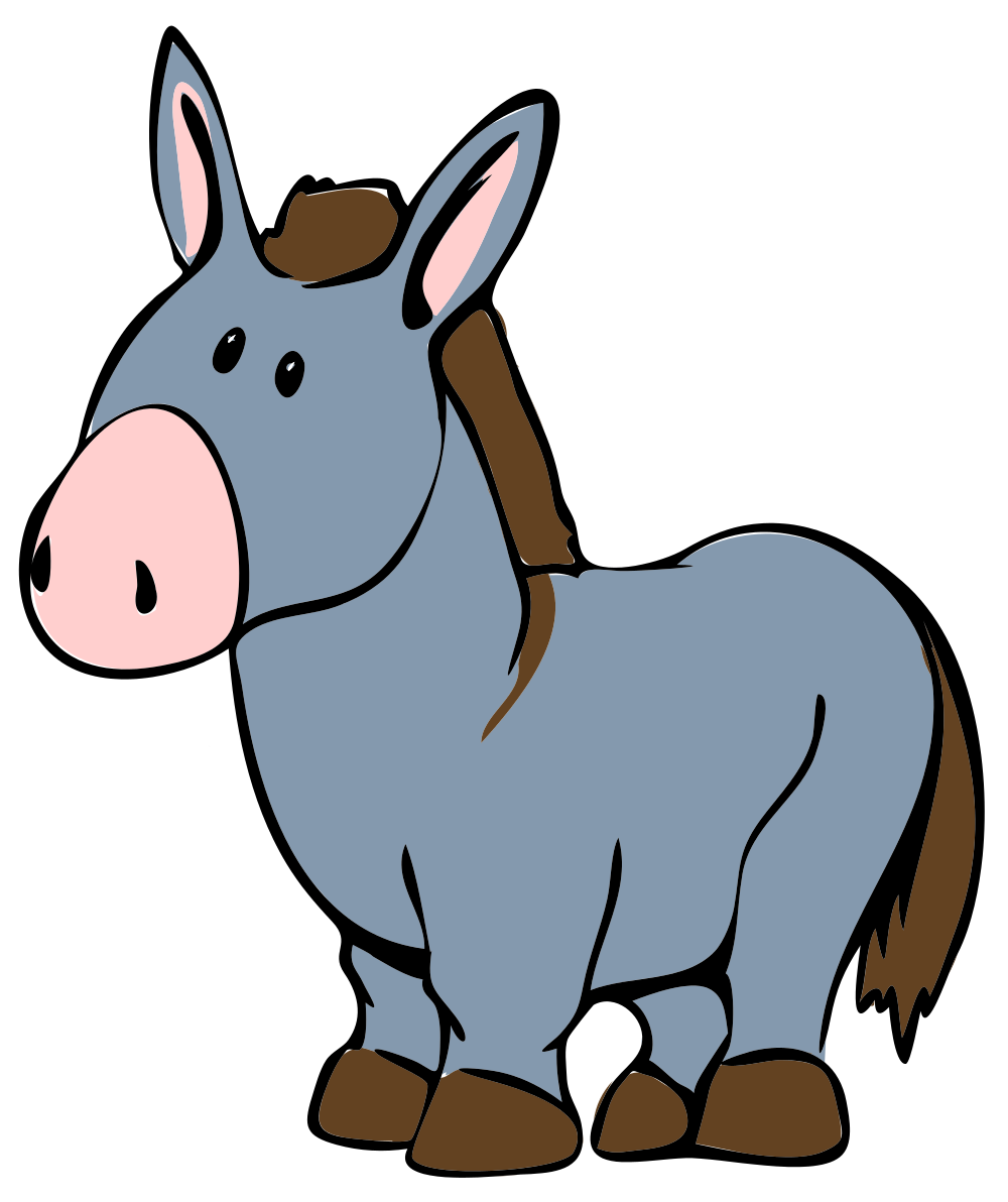 Free to Use & Public Domain Donkey Clip Art