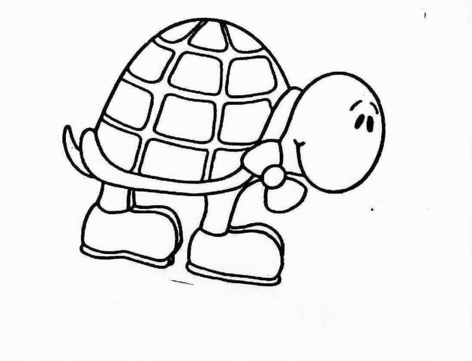 turtle coloring pages parking inform - photo#6
