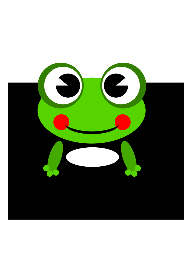 Frog by Ramy SVG Vector file, vector clip art svg file