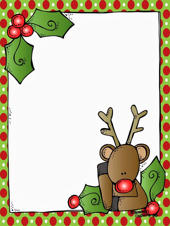 MelonHeadz: A blank Rudolph letter form for Santa! And it's FREE!!!!!