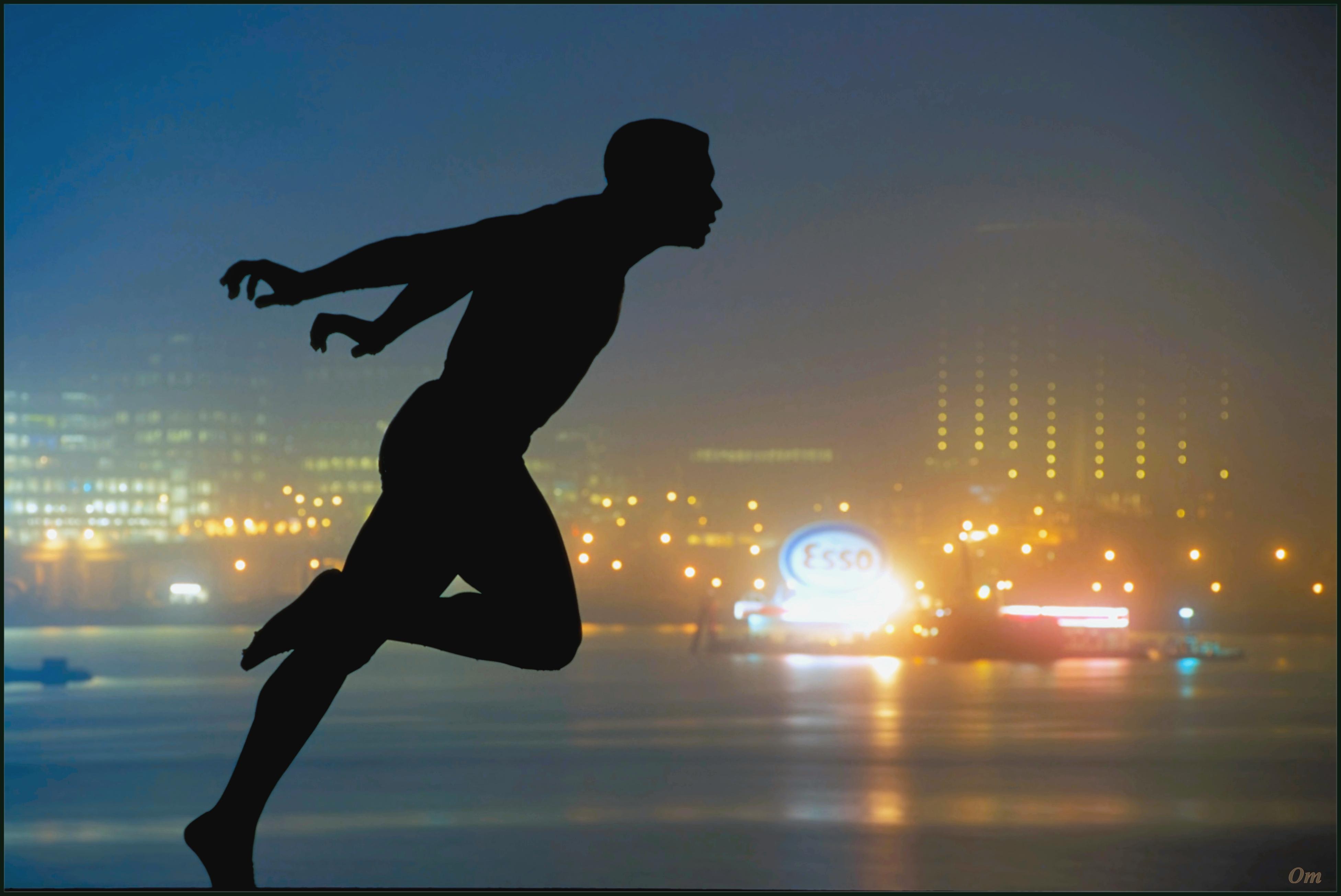 Runner photography