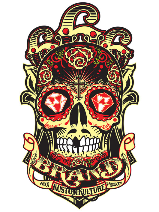 Skull Logo Design - Cliparts.co