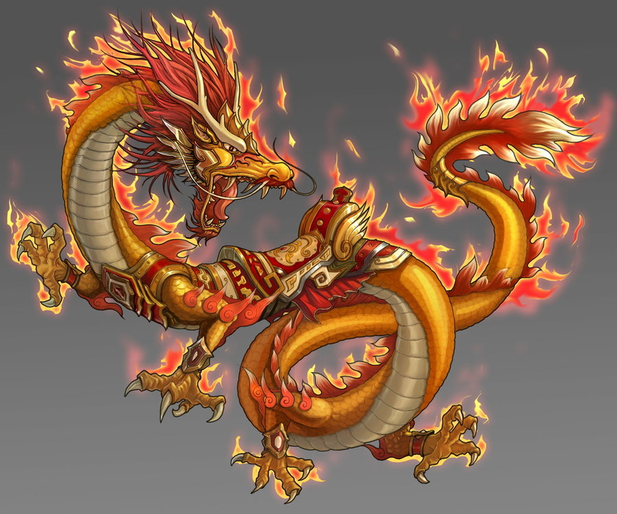 Hybrid Challenge: Chinese Dragon + Red Fox by May-Romance on ...