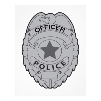 Police Officer Badge Template - Cliparts.co