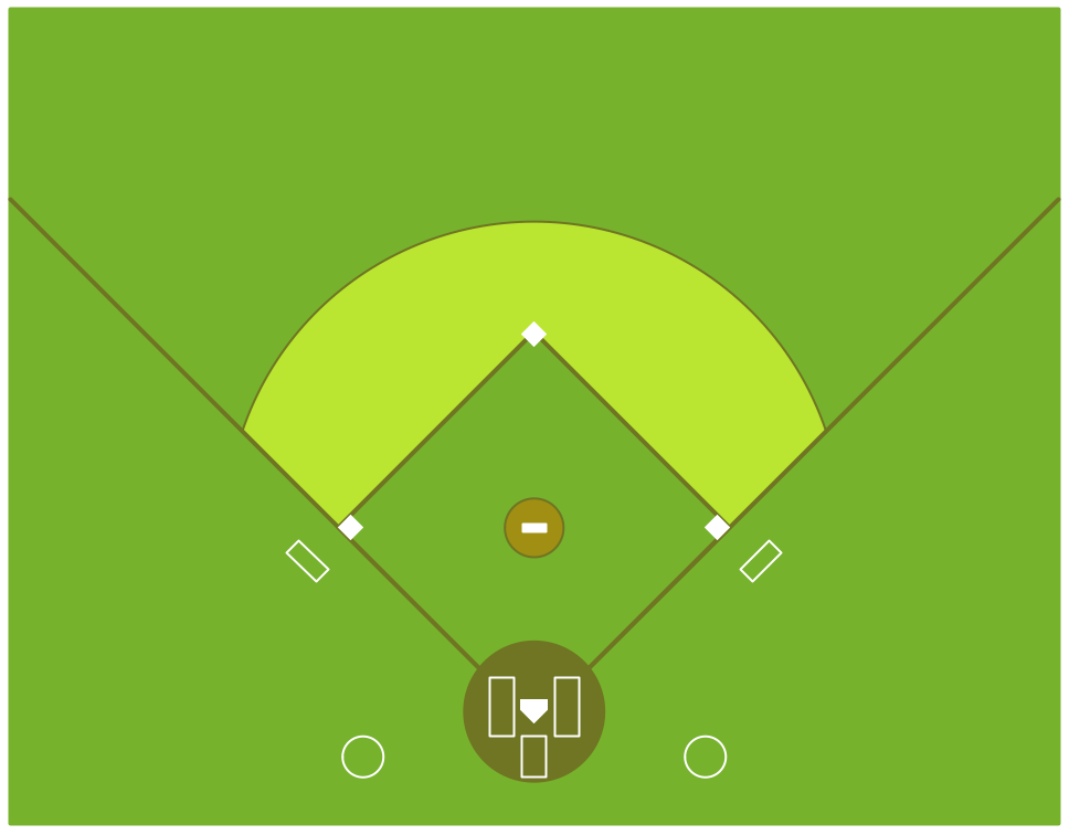 Baseball Solution | ConceptDraw.