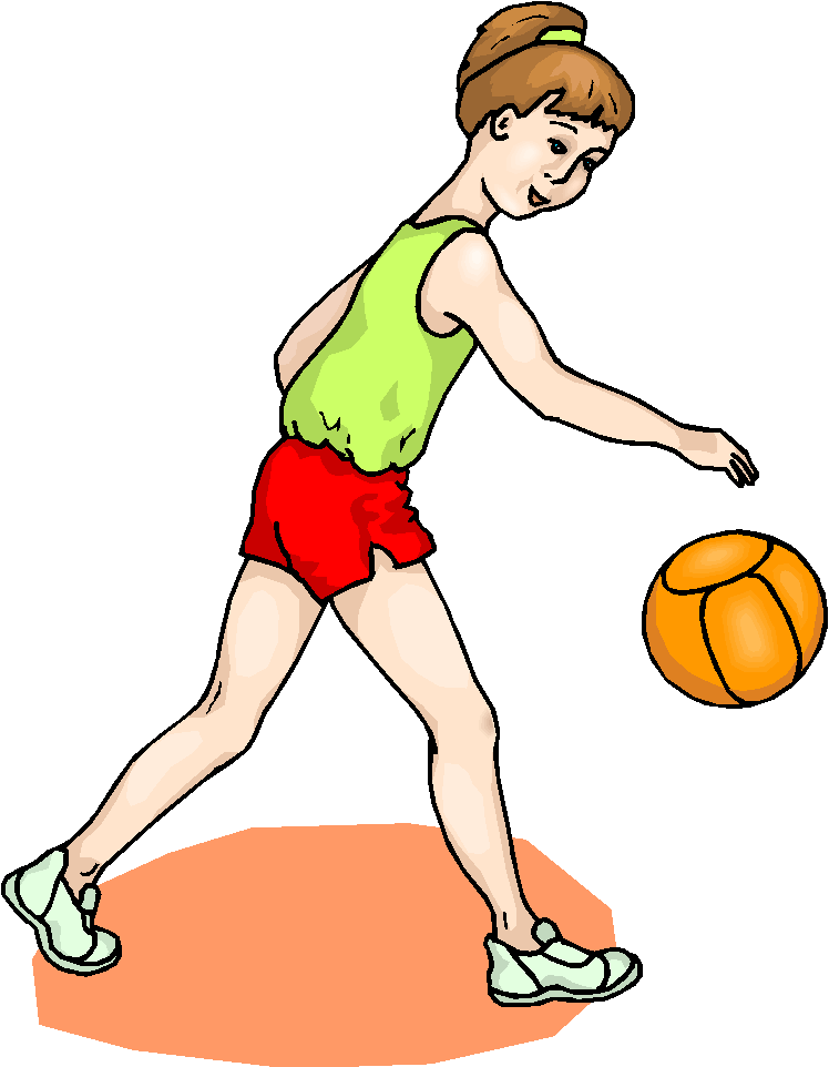 Girls Volleyball Clipart - Cliparts.co