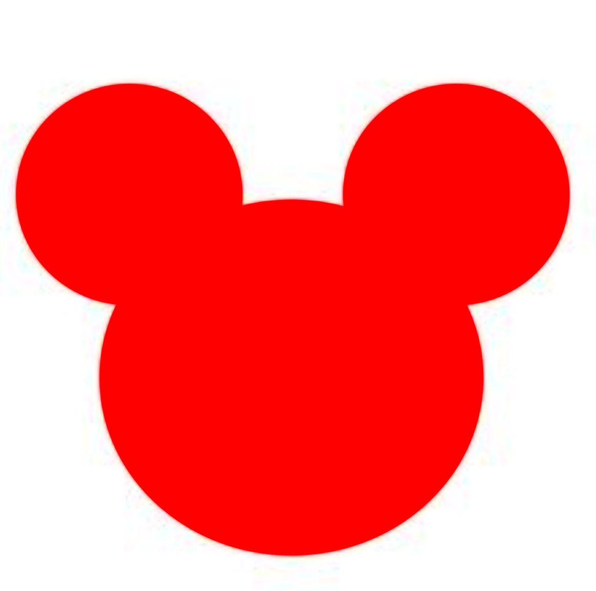 Pin Silhouette Template Minnie Mickey Mouse on Pinterest
