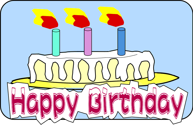 Happy Birthday Clip Art | Free Internet Pictures