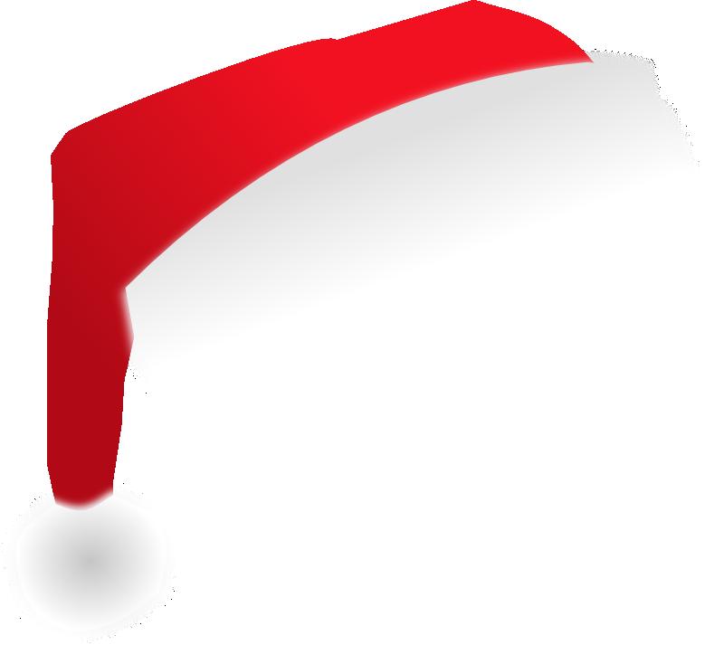 christmas santa hat clipart - photo #47