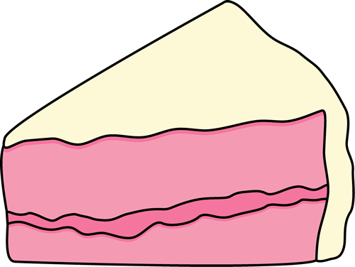 Clipart Slice Of Cake On A Plate : Slice Of Cake Clipart - Cliparts.co