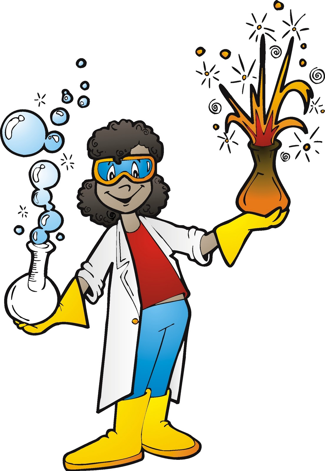 Cartoon Science Pictures - Cliparts.co