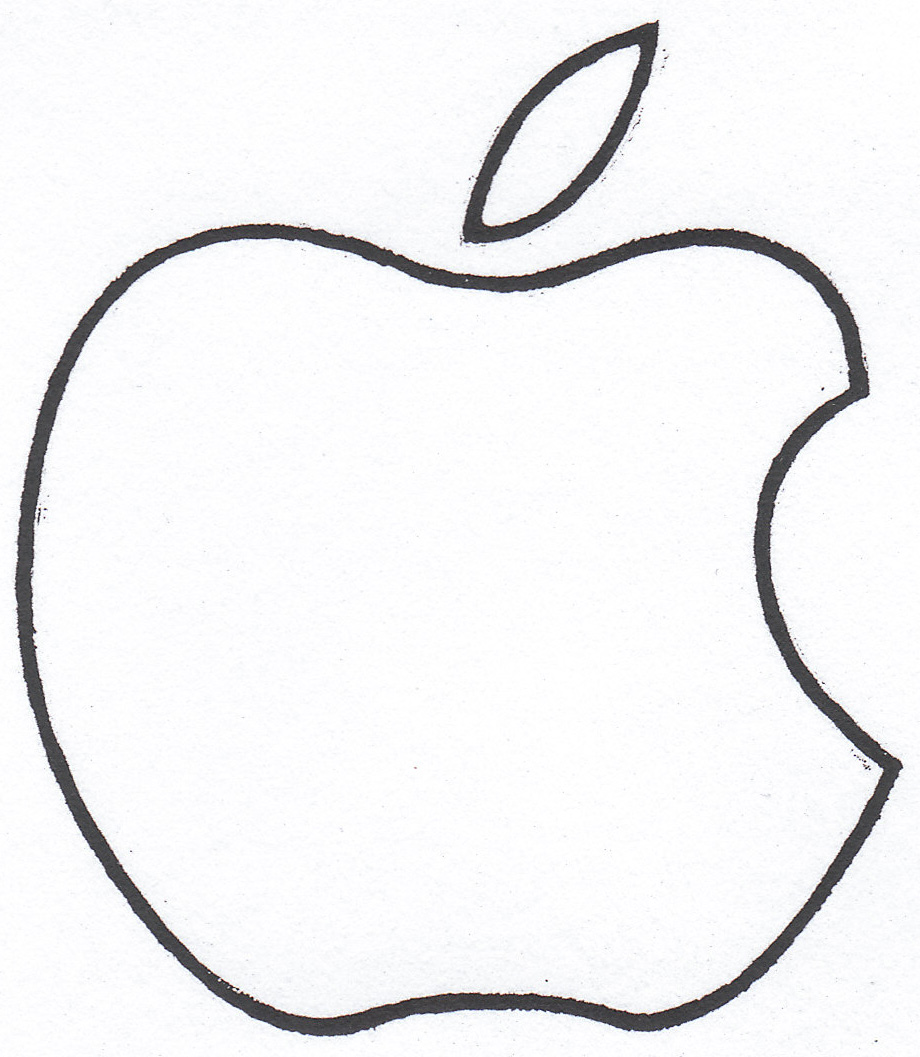 clipart apple pages - photo #18