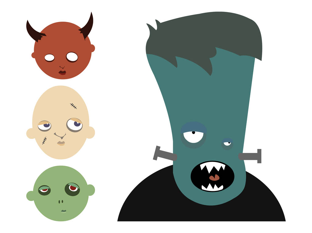 Scary Monster Cartoon - Cliparts.co