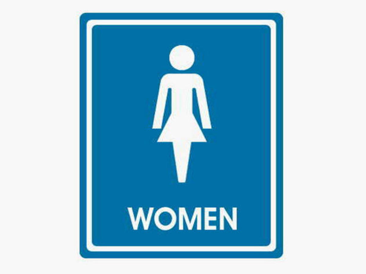 Ladies Bathroom Sign Cliparts Co