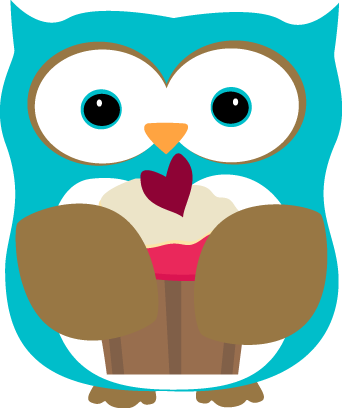 Owl Eating a Cupcake Clip Art - Owl Eating a Cupcake Image: cliparts.co/cute-owl-graphics