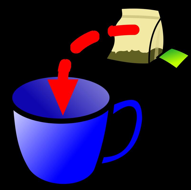 Tea Bag Cup - Cliparts.co