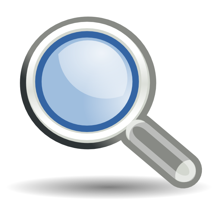 Cartoon minimalistic vector magnifying glass icon png image_picture free  download 611710441_lovepik.com