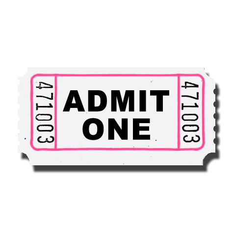 Admit One Ticket Clip Art - Cliparts.co
