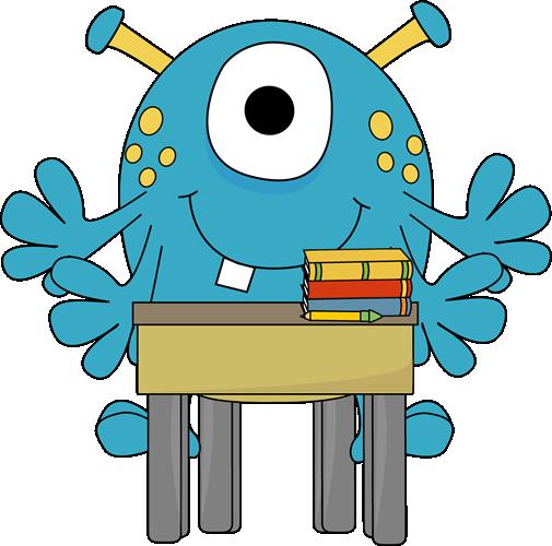 School Desk Clipart - Cliparts.co