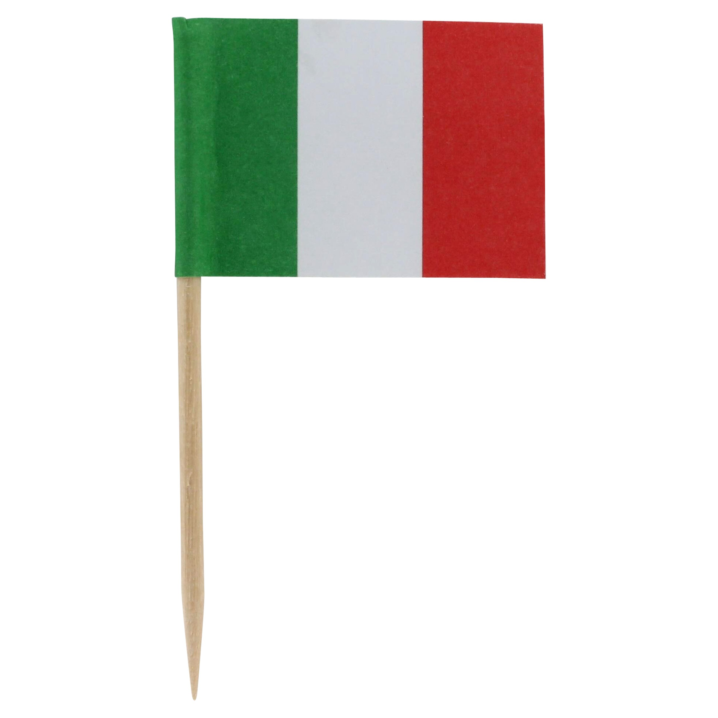 Italy Flag Toothpicks - Package of 100