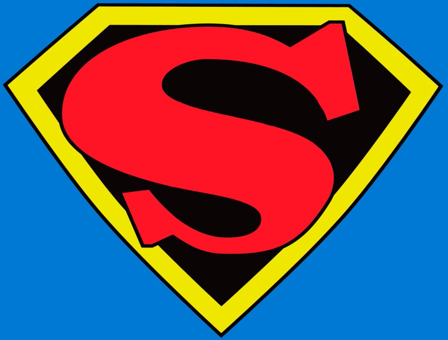 Superman Logo Black Background Images & Pictures - Becuo: cliparts.co/superman-logo-creator
