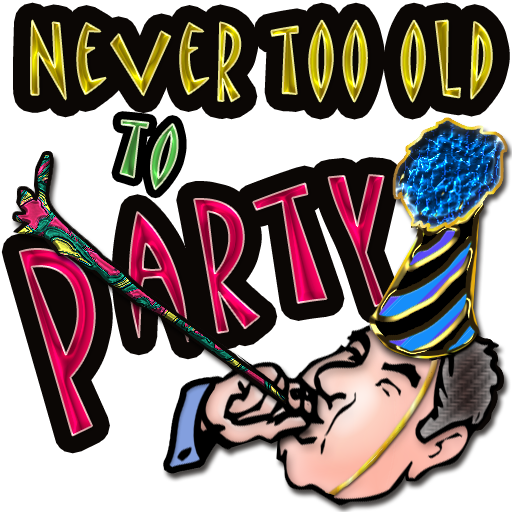 Never Too Old To Party! | IconDoIt
