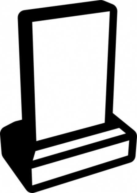 Headstone Clipart - Cl...