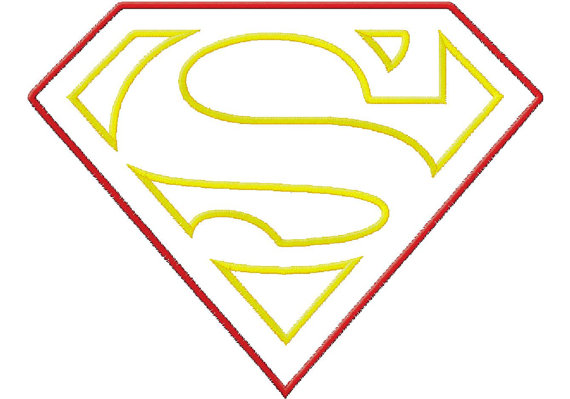 Superman Symbol With Different Letters - Cliparts.co