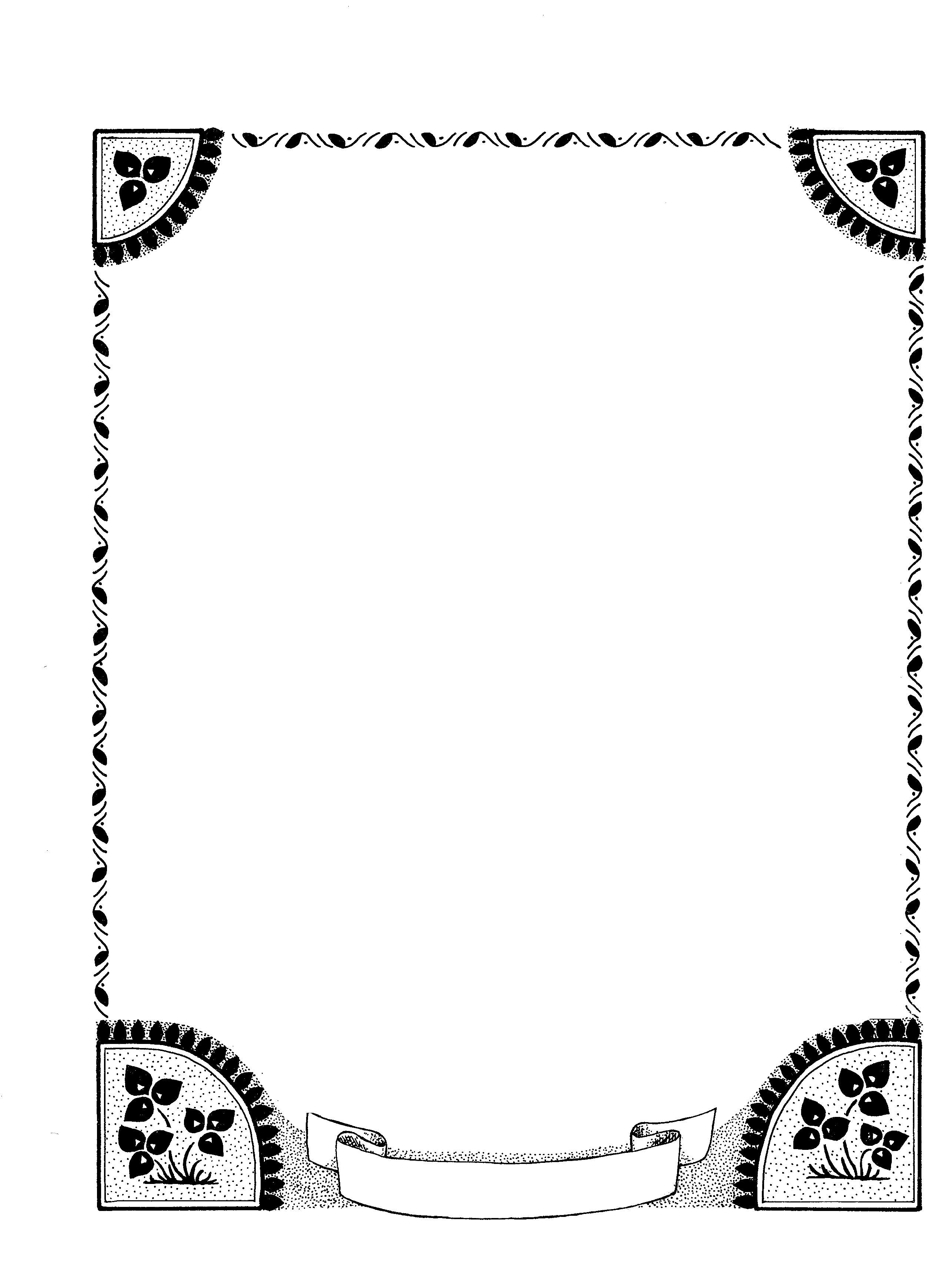 Assignment border designs