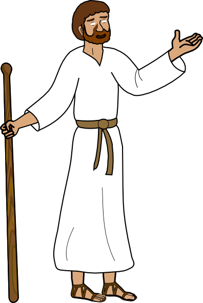 clipart cartoon jesus - photo #6