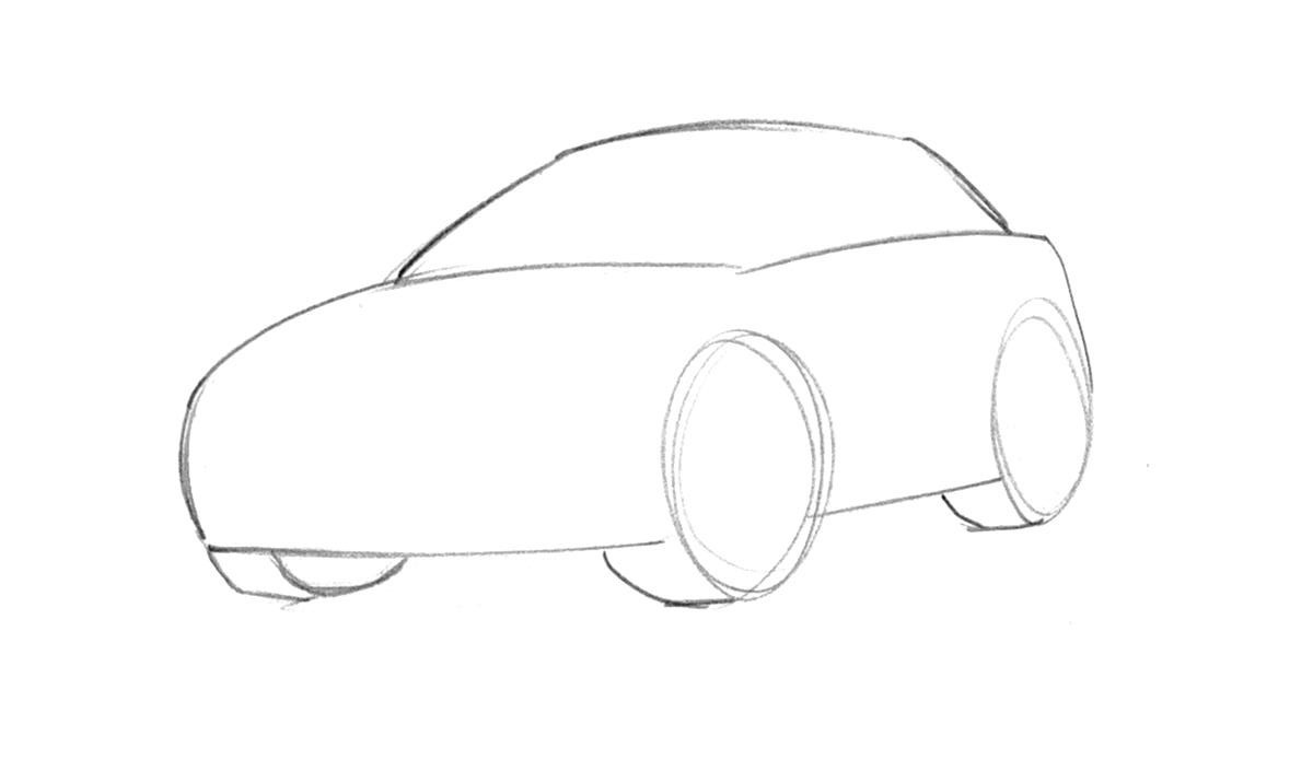 Cartoon Drawings Of Cars Cliparts Co
