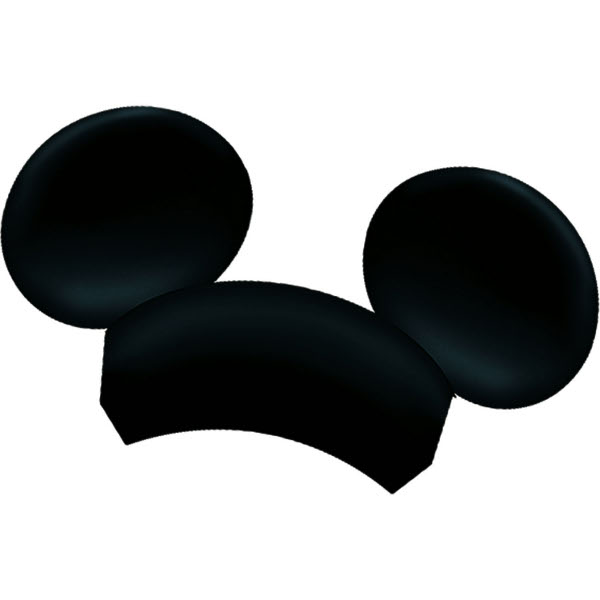 clipart mickey mouse ears - photo #16