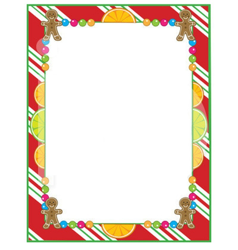 clipart xmas borders - photo #50