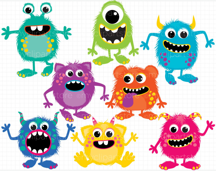 Birthday Monster Clipart | Clipart Panda - Free Clipart Images