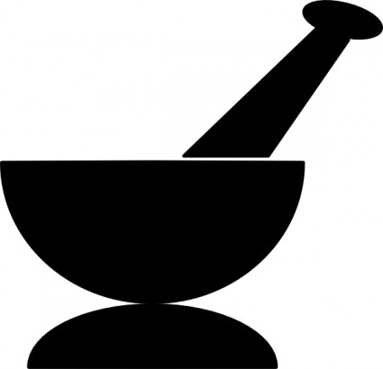 Mortar And Pestle clip art Vector clip art - Free vector for free ...