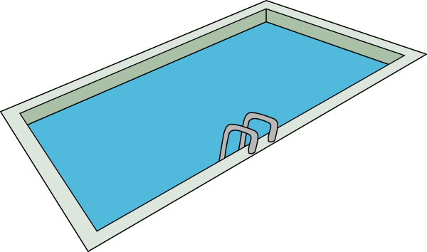 Swimming Pool clip art - vector clip art online, royalty free ...