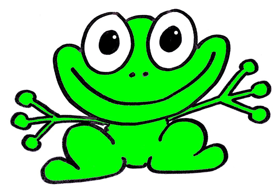 Cartoon frog - photo#3
